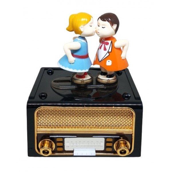 Dekoratif Radyo Müzik Kutusu