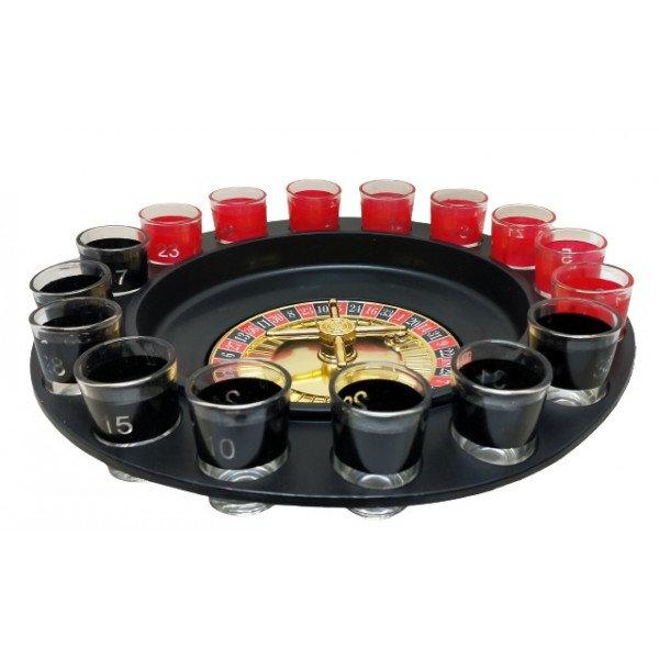 Rulet Oyunu 16 Bardaklı Shot Masa Oyunu