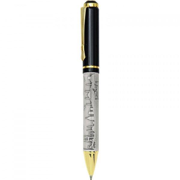Özel Kutusunda Kabartmalı Tasarım Roller Kalem ve Tükenmez Kalem Seti