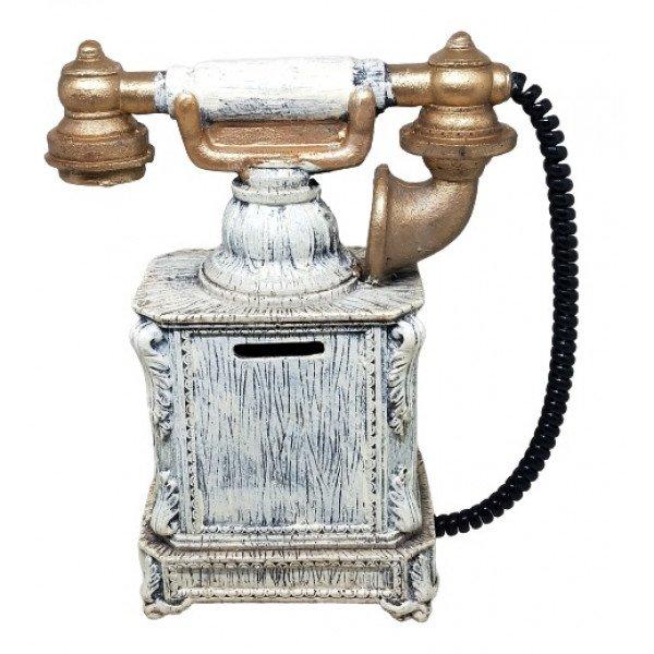 Dekoratif Polyester Telefon Kumbara