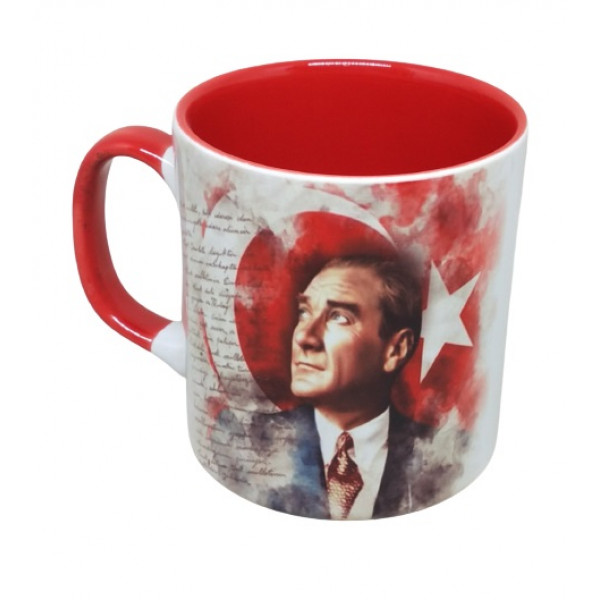 Renkli Atatürk Kupa