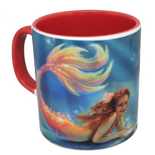 Deniz kızı kupa bardak