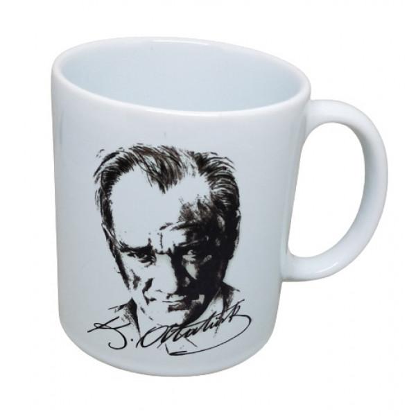 Atatürk İmzalı Kupa Bardak