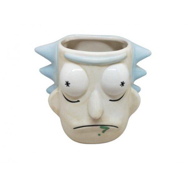 Rick And Morty 3D Kupa Bardak